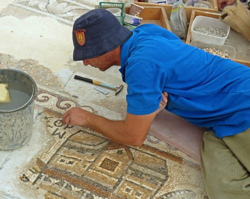 Why a rare Egyptian mosaic is going on display in an industrial park in Israel