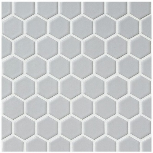 RETRO HEX-4M MATTE LIGHT GREY