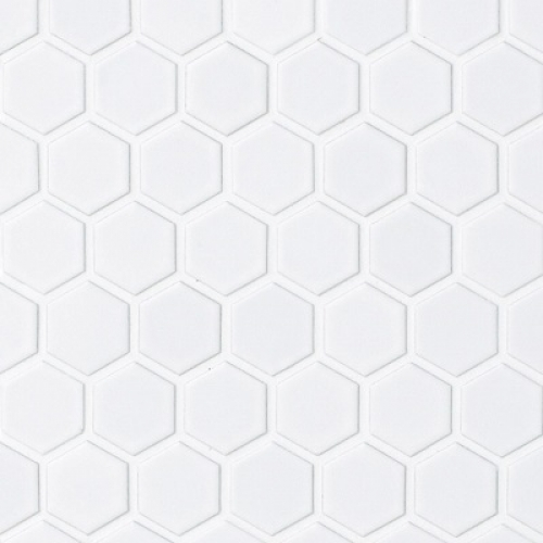 RETRO HEX-1M MATTE WHITE