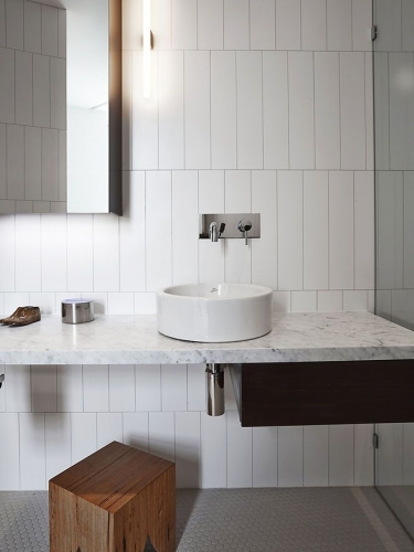 LUNGARNO WHITE GLOSS 4X16 WALL TILE