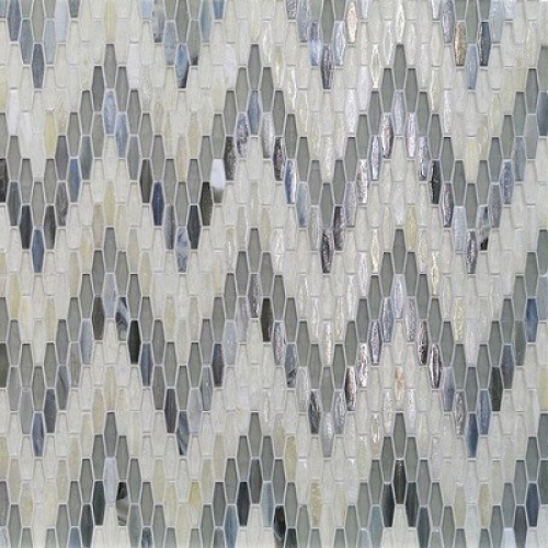 Textile Bargello Flannel Mixed