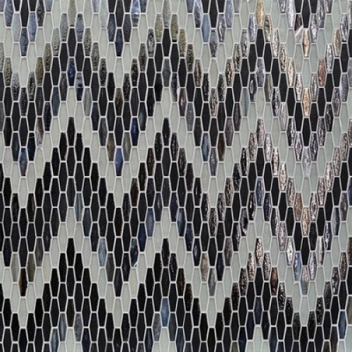 Textile Bargello Lunar Eclipse Mixed