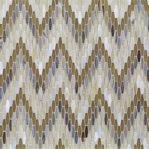 Textile Bargello Mica Mixed