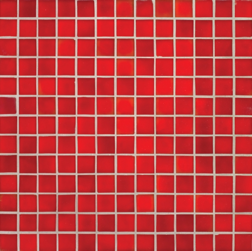 Oceanside-Red Matte 377 Mosaic