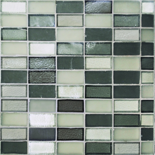 Mosaic Tile 1x2 Straight Set Pattern