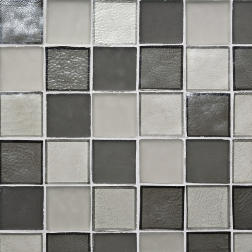 Mosaic Tile 2x2 Straight Set Pattern