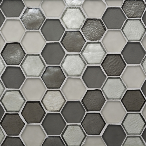 Mosaic Tile Hexagon Pattern