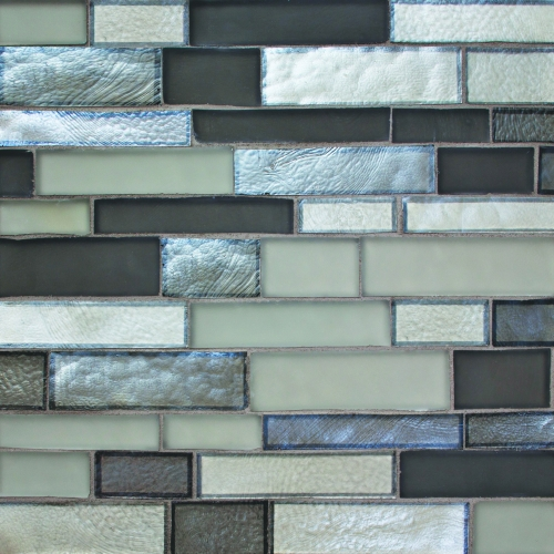 Mosaic Tile River Pattern