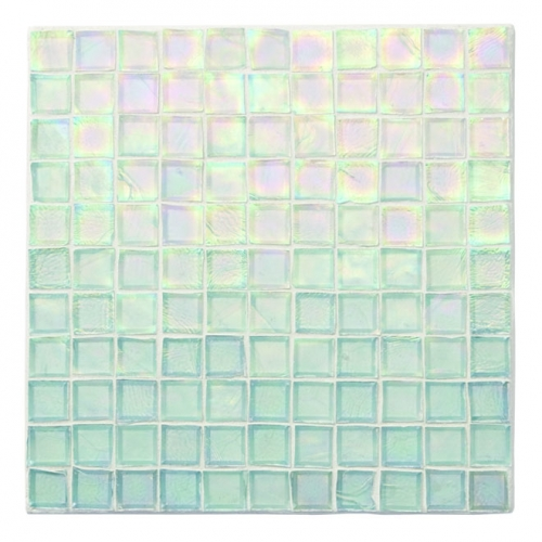 Iridescent Mosaic Tile Clear 000