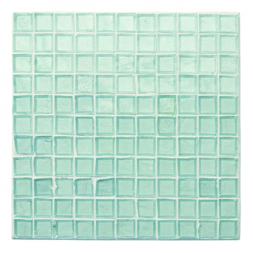 Non-Iridescent Mosaic Tile Clear 100