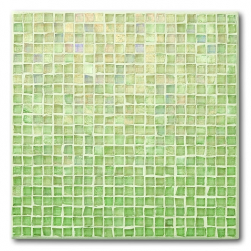 Iridescent Mosaic Tile Equator 037