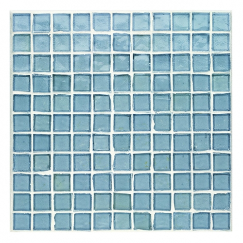 Non-Iridescent Mosaic Tile Fleet Blue 127