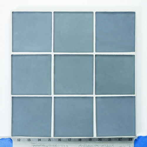 Matte Mosaic Tile Fleet Blue 327