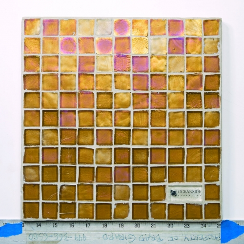 Iridescent Mosaic Tile Harvest 008