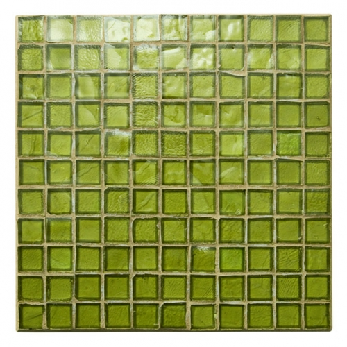 Non-Iridescent Mosaic Tile Olive 138
