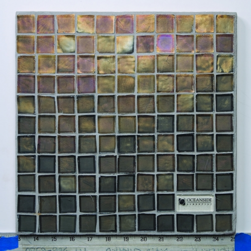 Iridescent Mosaic Tile Shadow 051