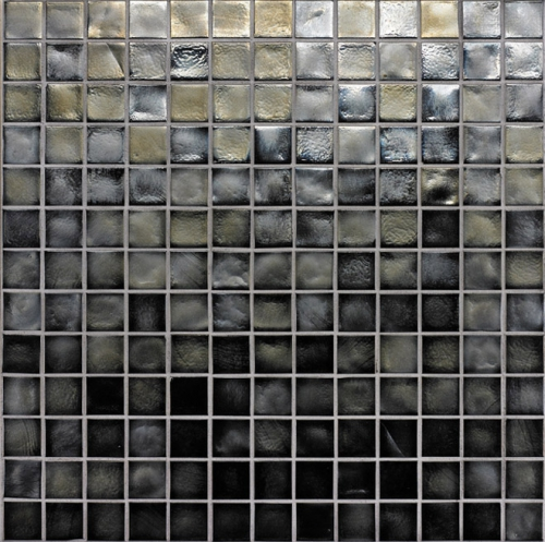 Oceanside-Pewter Iridescent 047 Mosaic