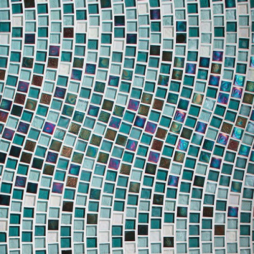 Muse Wave Mosaic Pattern